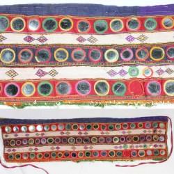 Broderie Ceinture Gypsie 73 miroirs