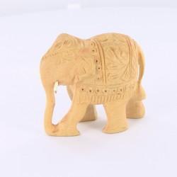 Statue indienneEléphant trompe en bas 6cm