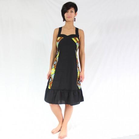 robe coton imprimé