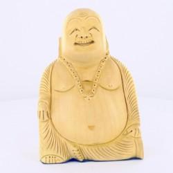 Statue indienne Bouddha Rieur 13cm