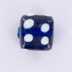 "Perle Indienne ""Cube 12mm"""