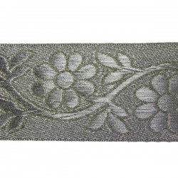 galon indien motifs floraux