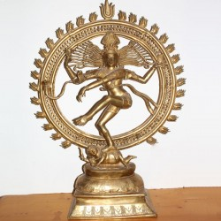 Grande statue indienne Shiva Natraj
