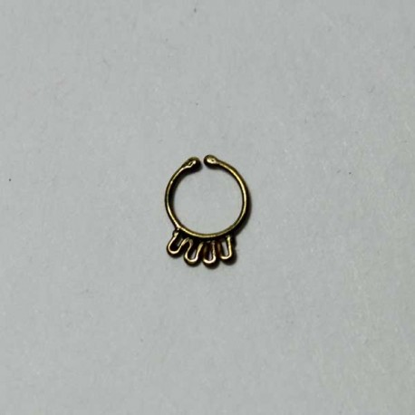 faux piercing septum