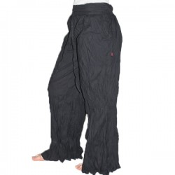 Pantalon indien coton noir