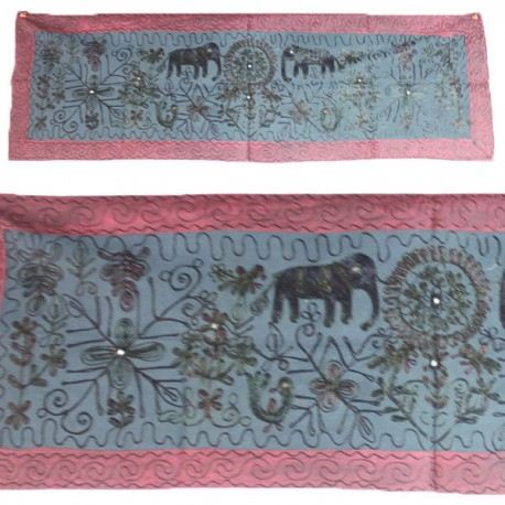 Broderie indienne rectangle Banna