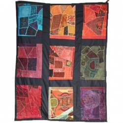 patchwork mural 9 cases