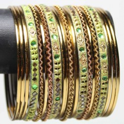 21 Bracelets Traditionnels - Adulte 7 cm