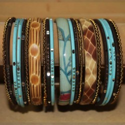 Bangles Indiens - Set de bracelets traditionnels