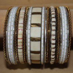 Set de bracelets indiens traditionnels