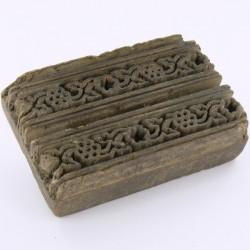 Tampon à textile en bois Inde