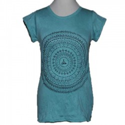 "TShirt Femme en coton ""Mandala Zen"" S/M"