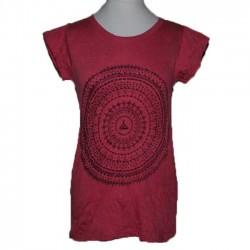 "Tshirt Femme ""Mandala Zen"" S/M"