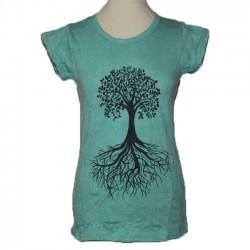 """T-shirt femme en coton """"Arbre"""" S/M"""