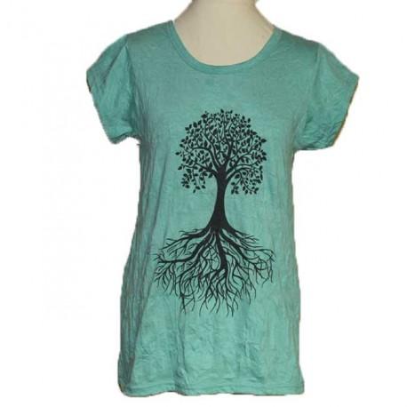 """T-shirt femme en coton """"Arbre"""" L/XL"""