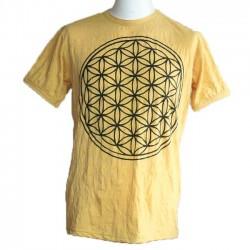 """T-Shirt Homme """"Fleur de Vie"""" Taille M"""