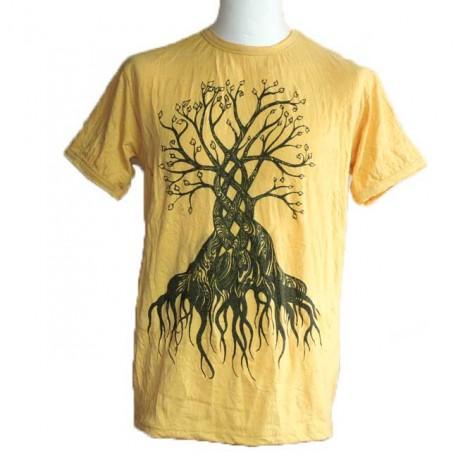 """T-Shirt Homme """"Arbre de Vie"""" Taille M"""