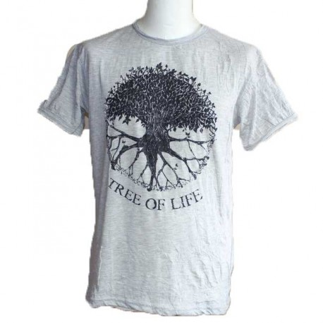 """T-Shirt Homme Coton """"Tree Of Life"""" Taille M"""