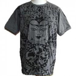 "T-Shirt Homme Coton XL ""Bouddha"""