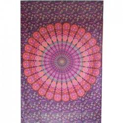 Tenture Mandala Coton Inde