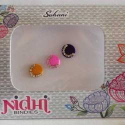 Bindi indien pour front