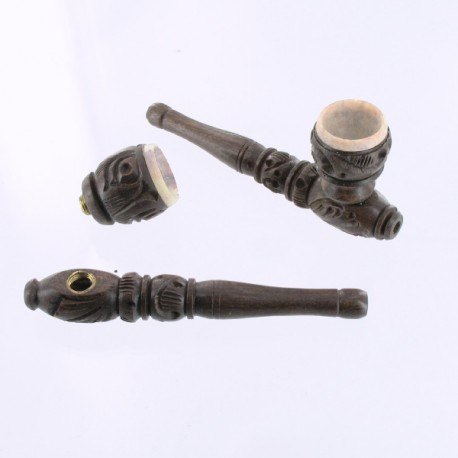 pipe en bois 10 cm Inde