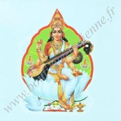autocollant Saraswati